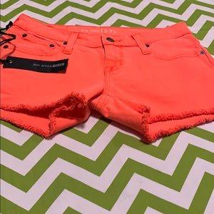 NWT Big Star Jean Shorts Size 25